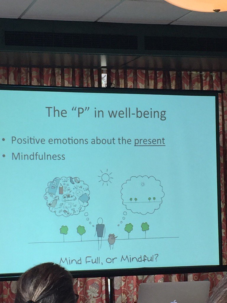 Is your mind full or mindful? Put the p- presence- in well-being #positiveeducation #ipen #Mindfulness https://t.co/qmV1aCgnPJ