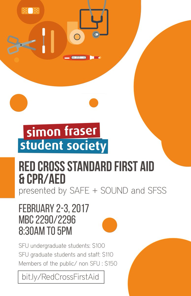 Sfss On Twitter Get First Aid Certified With The Red Cross Https