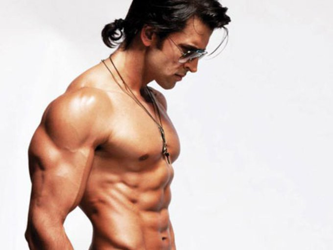 """Happy birthday to India\s only hero who does charity in darkness, \""""Hrithik Roshan\"""" born on 10th January 1974"""