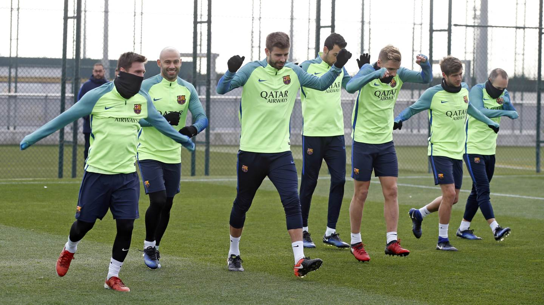 Nike lanza la nueva ropa de entrenamiento del Barcelona