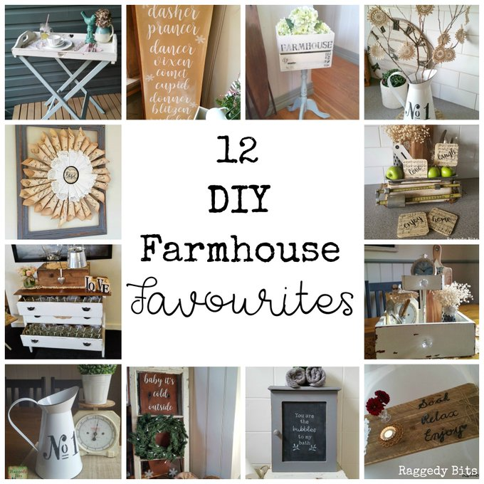 12 DIY Farmhouse Favourites from 2016