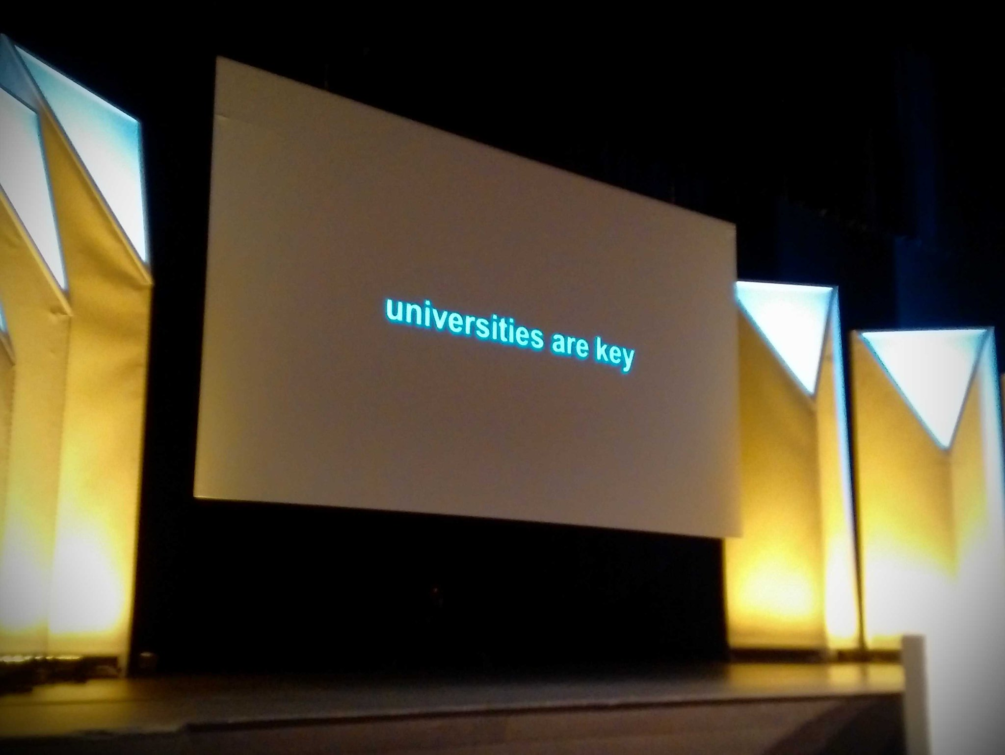 """Universities are key,"" @grok_ #UWaterloo60 https://t.co/hdkCspPRCh"