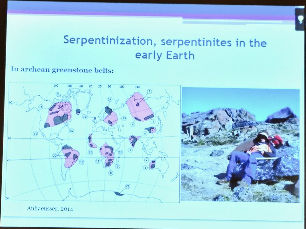 Live from Tokyo: 5th #ELSIsympo just started. Marie Laure Pins (UCambridge) on Serpentinization sites on Earth https://t.co/EVABnBHCUH