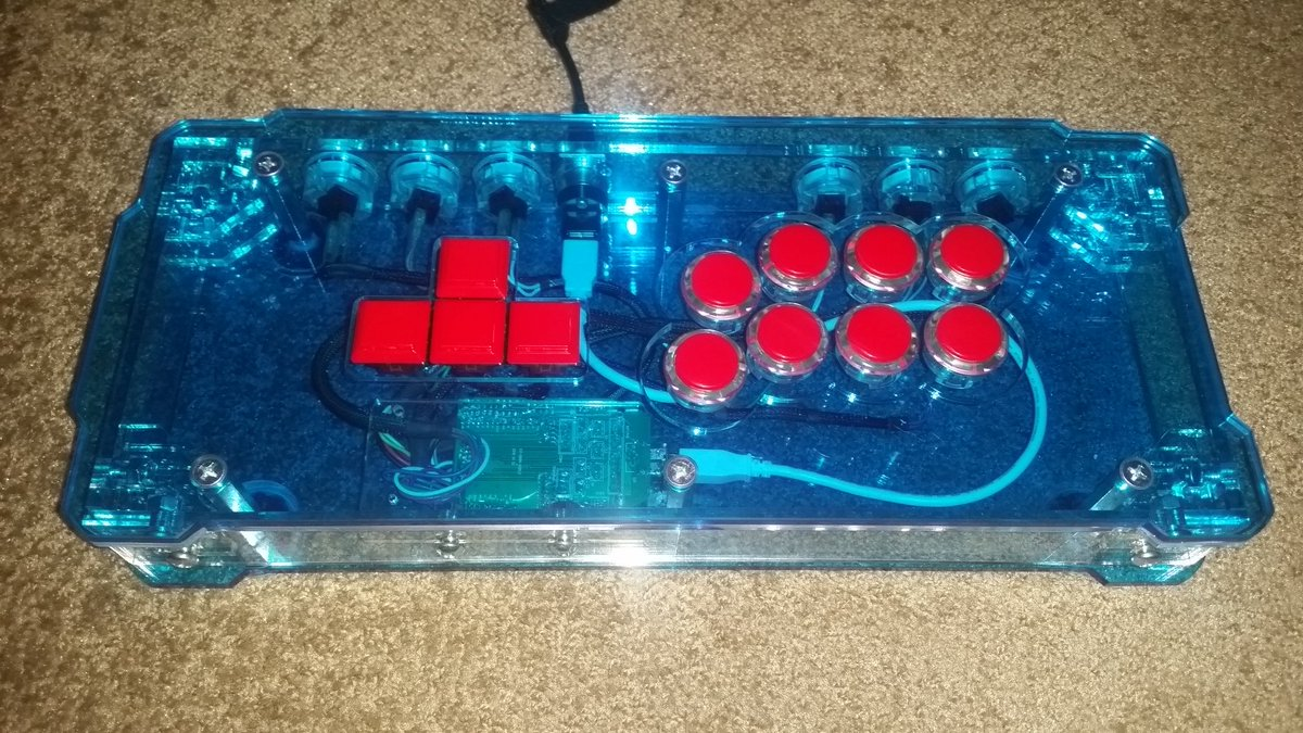 Thanks @vivovicko & @MarvelousCustom for a great looking and working stick. https://t.co/zj9zhqdNmR