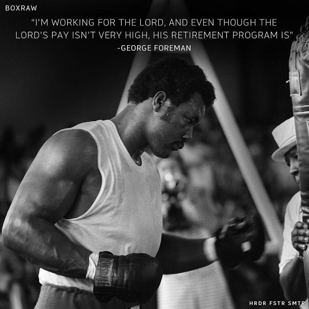 Happy Birthday George Foreman. One of the greatest and hardest hitting heavyweights to hav