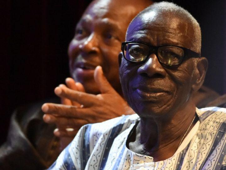 Joyeux Anniversaire à Bernard Binlin Dadié, 101 ans aujourd'hui, avec ce vers 'Je vous remercie mon Dieu de m'avoir créé Noir'