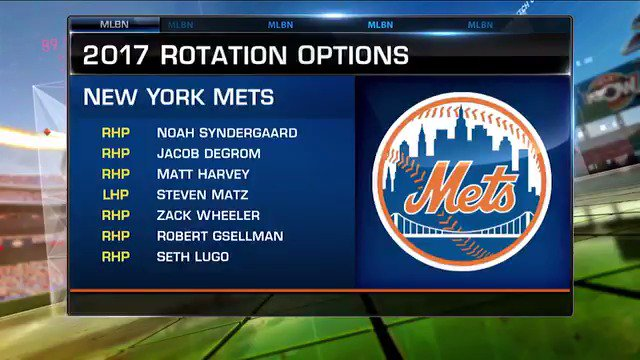 Ron Darling anticipates an historic season for the @Mets' rotation. He explains why on #MLBNow