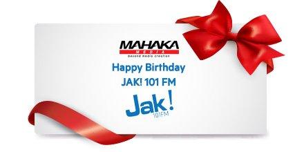Selamat Ulang Tahun JAK! 101 FM. Semoga selalu jaya.. 😊   @JAK101fm https://t.co/snnN23KiSh