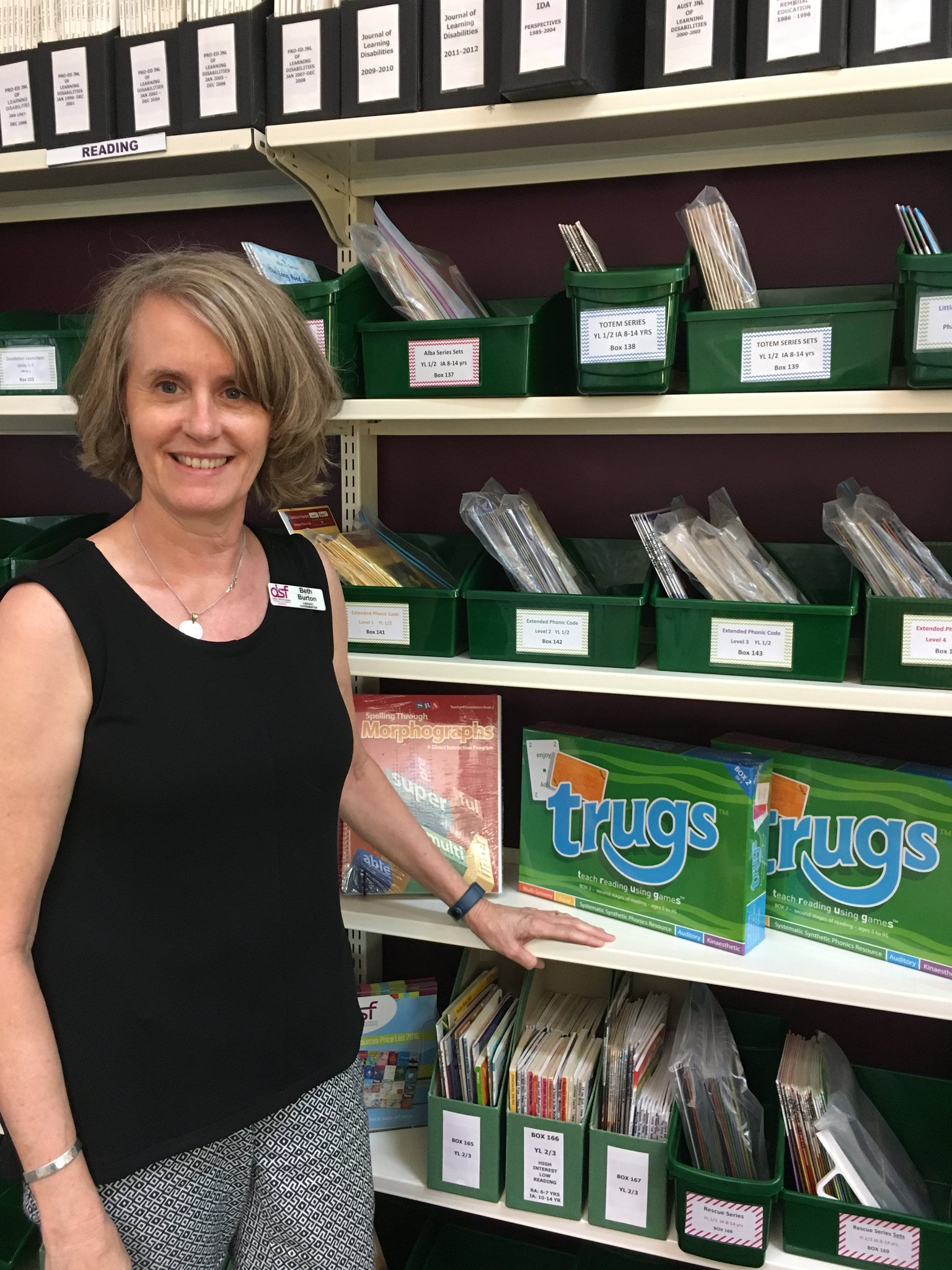 New library resources for @DyslexiaSPELD as part of the #Community100 grant #Lions100 https://t.co/3YpFC90Z7T https://t.co/gR1G5BMf8U
