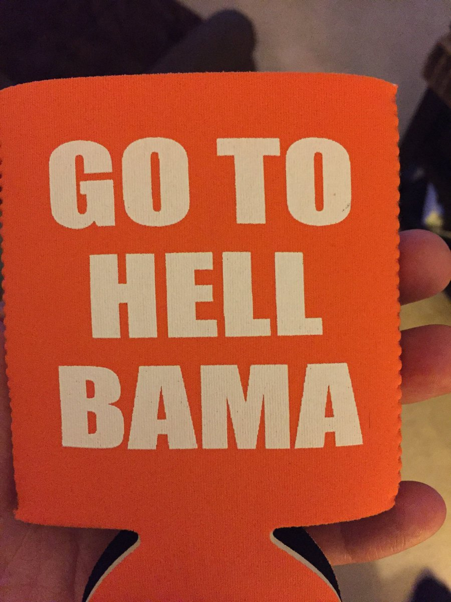 Gonna be using this koozie for a while…. #ClemvsBama #NationalChampion...