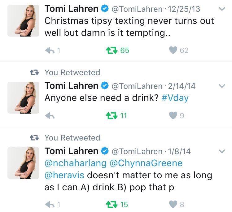tomi lahren horny tweets