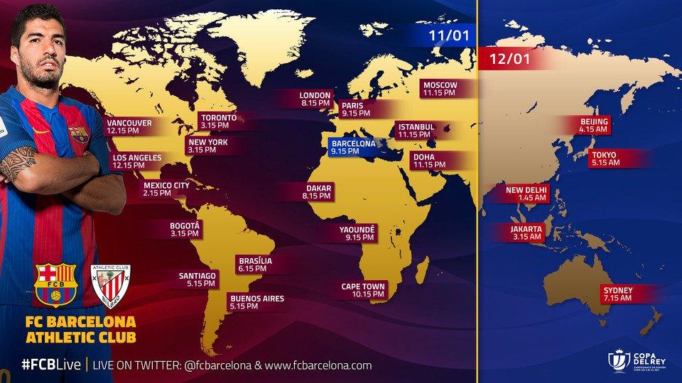 📺📱 Así podrás seguir el #FCBAthletic de #CopaFCB desde cualquier parte...