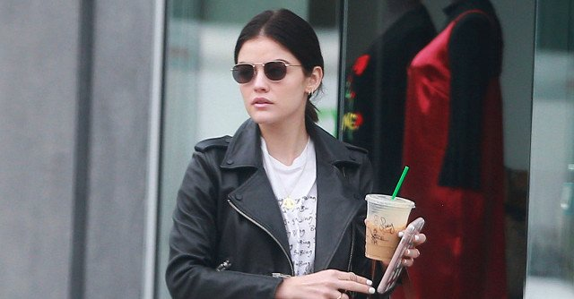 Lucy Hale's Whole Outfit Is From One of Our Favorite Blogger Designers