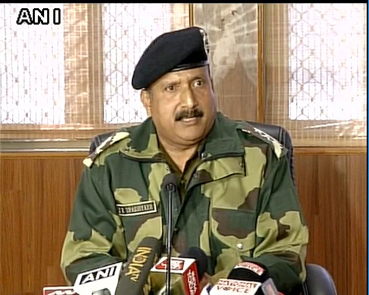 Agree that taste isn't good because in winters there is tinned and dehydrated food but jawans don't complain-IG BSF,DK Upadhyay on Jawan's video