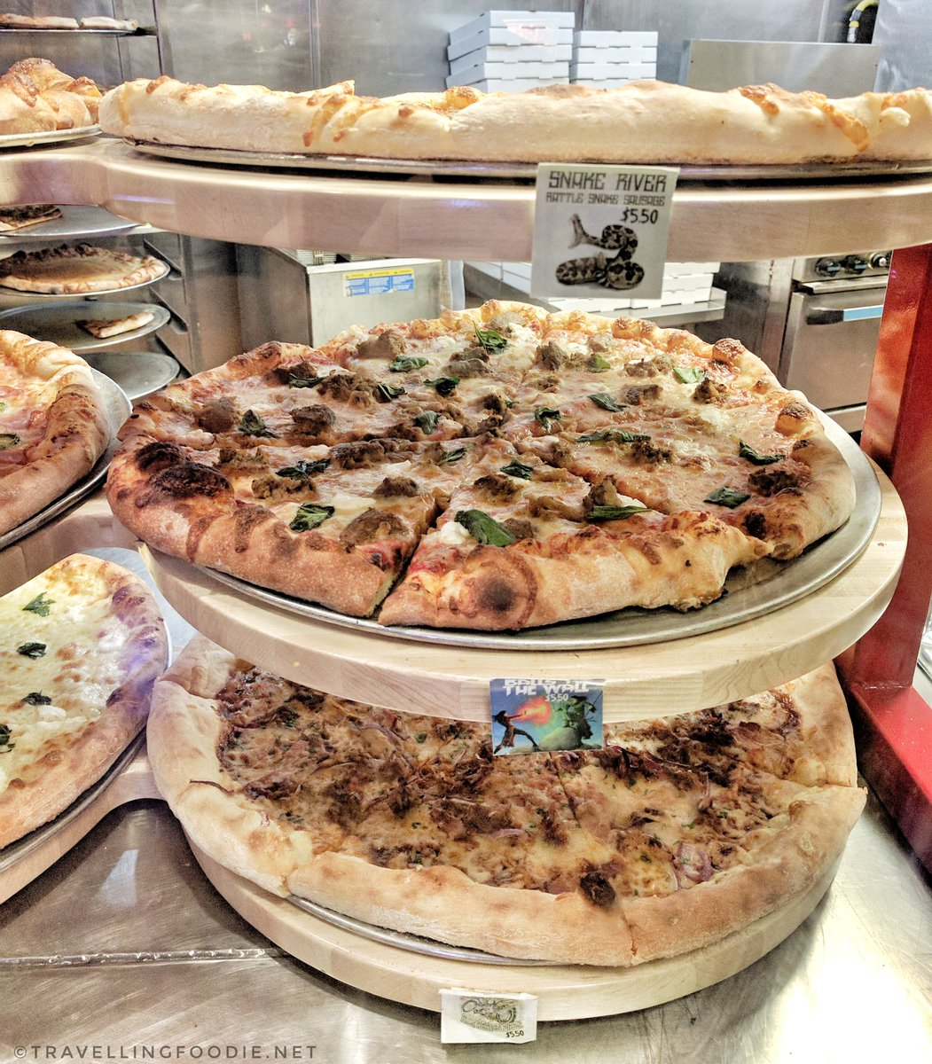 Travelling Foodie eats at Evel Pie in East Fremont Street Las Vegas Nevada