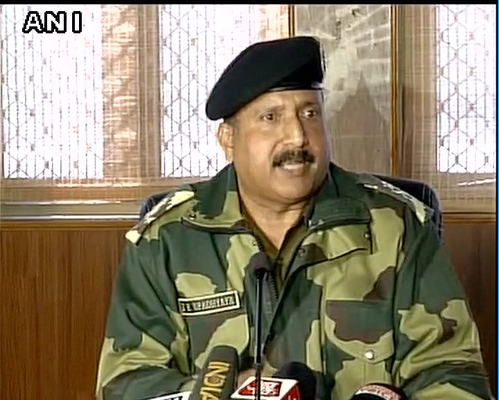 Amazed. DIG had visited the location  and  had asked everyone including him but no complaint were received;intentions were diff probably: IG BSF