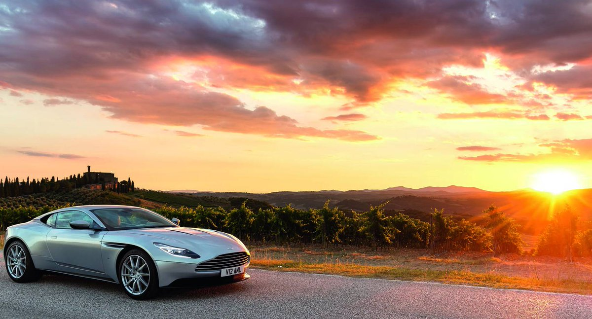 READ: Grand Touring with the Aston Martin #DB11 in Tuscany. #AMMagazin...