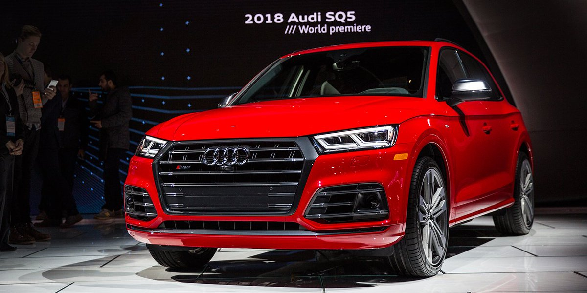 With a turbocharged V6 engine, the #AudiSQ5 is a sports car in SUV clo...