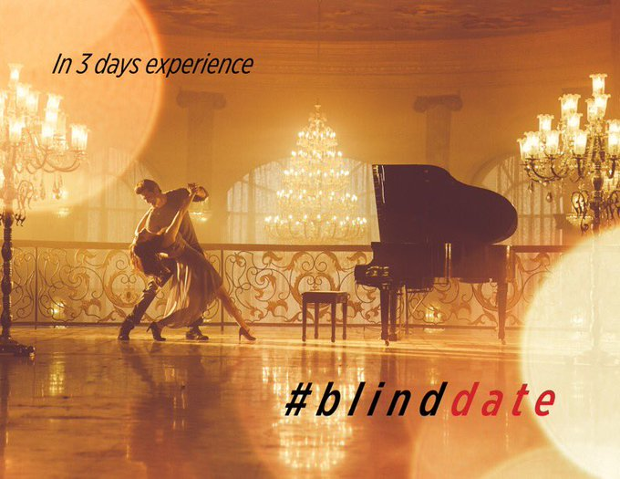 When words fall short in expressing how you feel. Kisse Se Pyaar Hojaye in 3 days #BlindDate https://t.co/cLcmXKDJFd