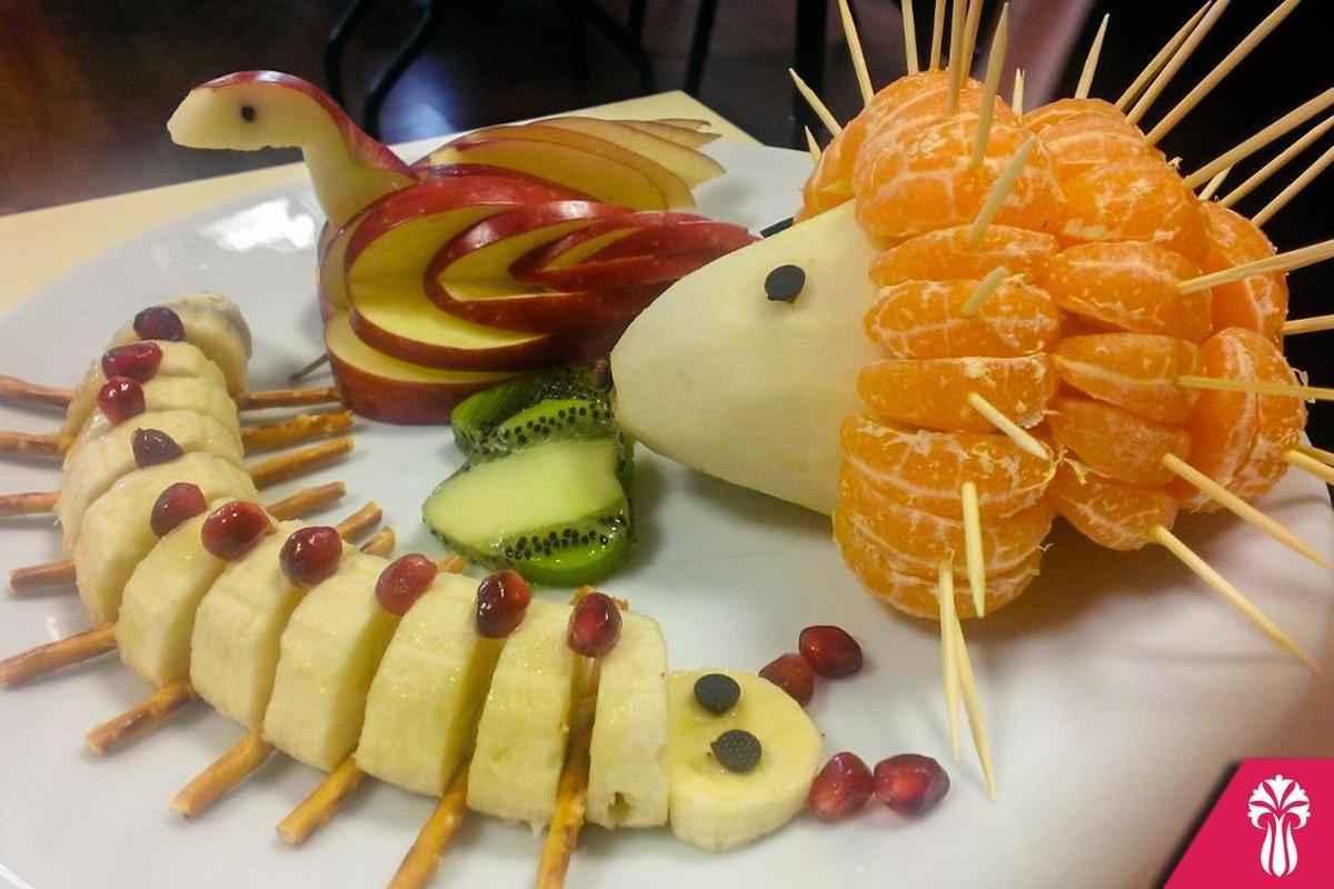 Çocuklar İçin Meyve Tabağı