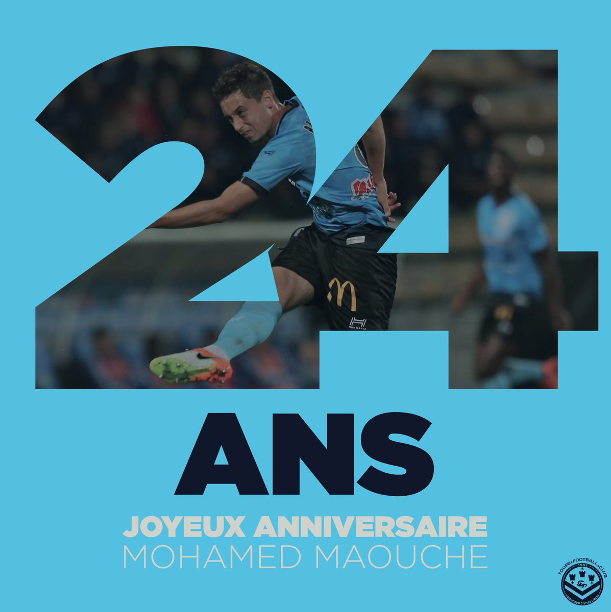 Tours Football Club On Twitter Anniversaire Nous Souhaitons