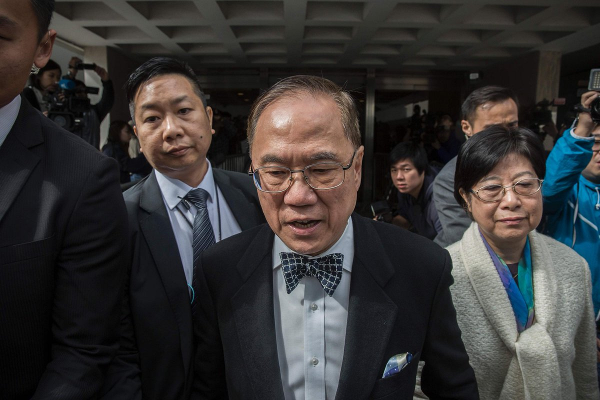 Hong Kong's former leader Donald Tsang abused power, prosecution says