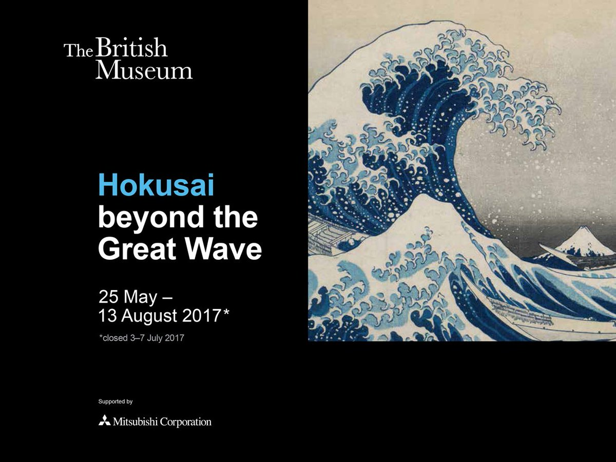 Image result for Hokusai wave british museum