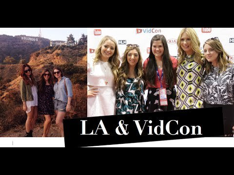 LA Missions & VidCon Day 1!