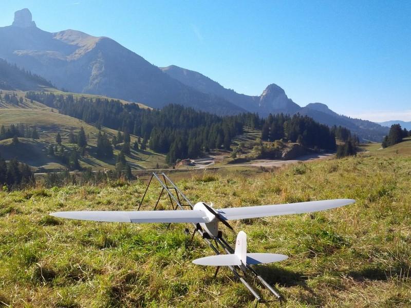 ميزات طائرة Spy Ranger من Thales C1zuX8DUAAAXpDr