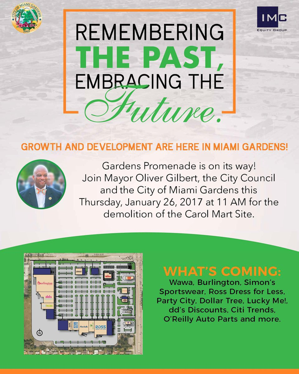 City Of Miami Gardens On Twitter Growth Development Are Here