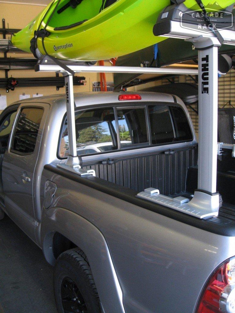 "Cascade Rack on Twitter: ""Truck Bed Rack Installation and Kayak Racks - 2014 Toyota Tacoma ..."