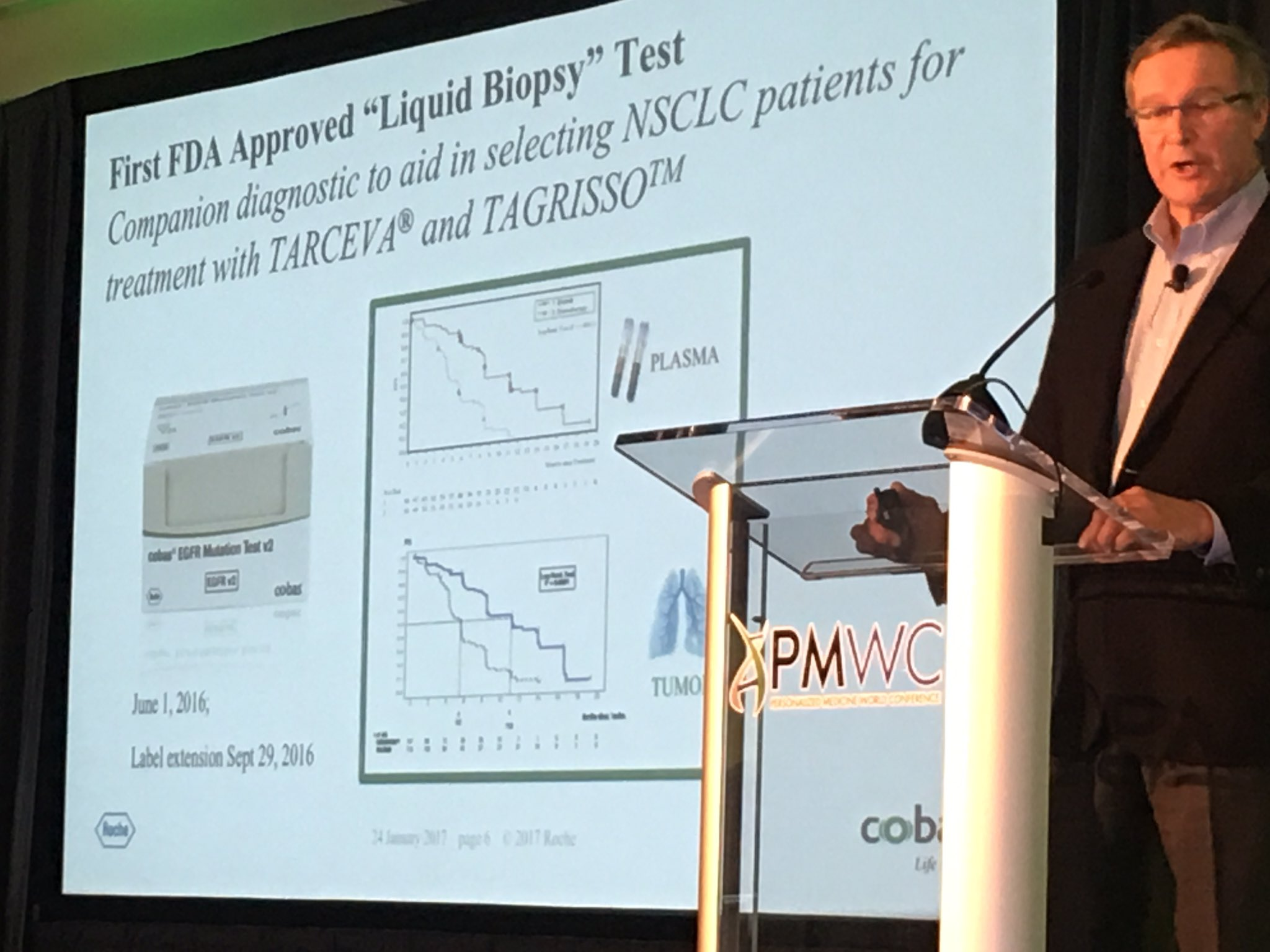 Listening to discussions about bringing #LiquidBiopsy to the clinic at Precision Medicine #PMWC17 World Conference! https://t.co/iAUvaaGtqF