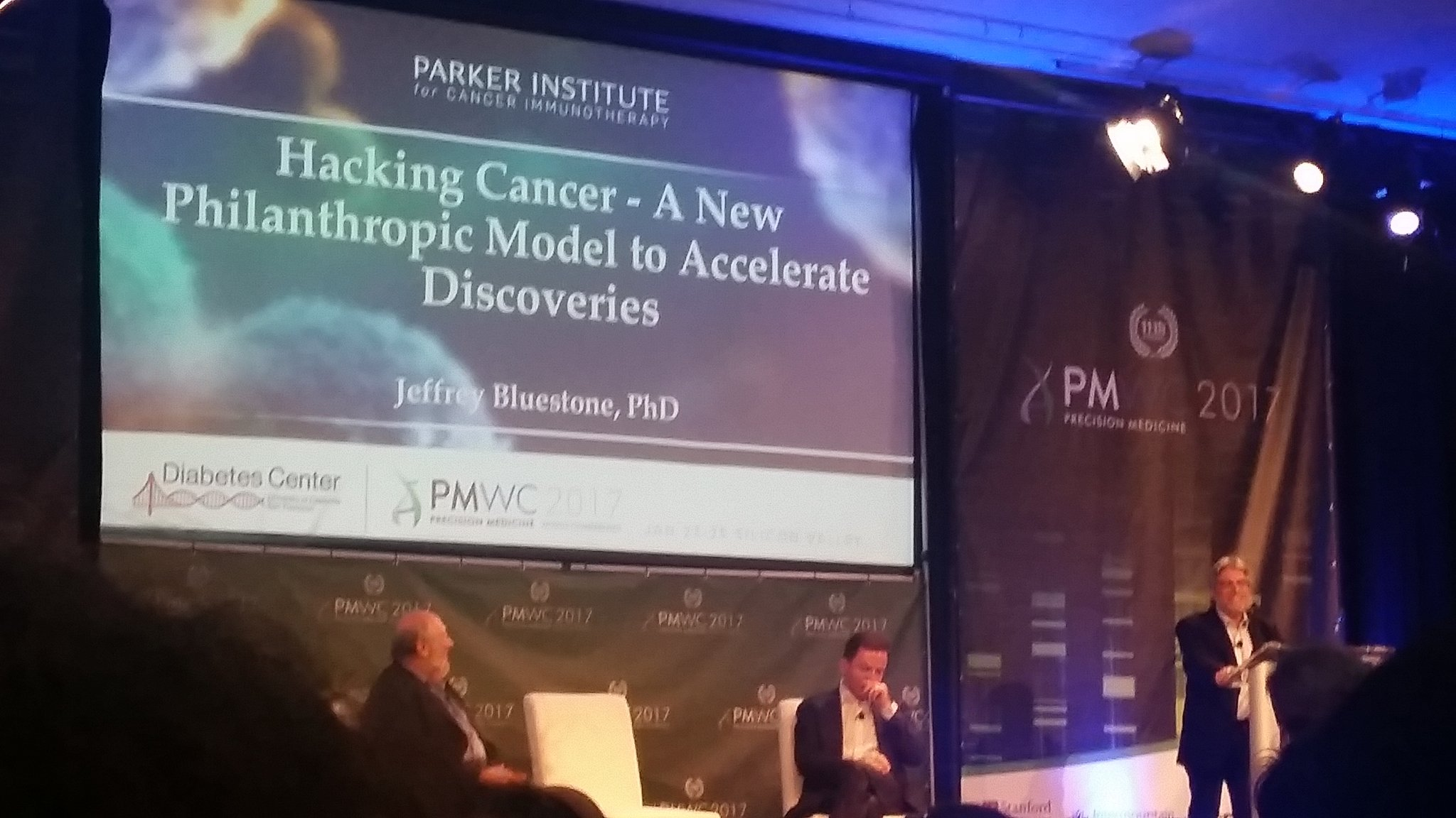Hacking Cancer! #PMWC17 Yes! https://t.co/amP3yS6wok