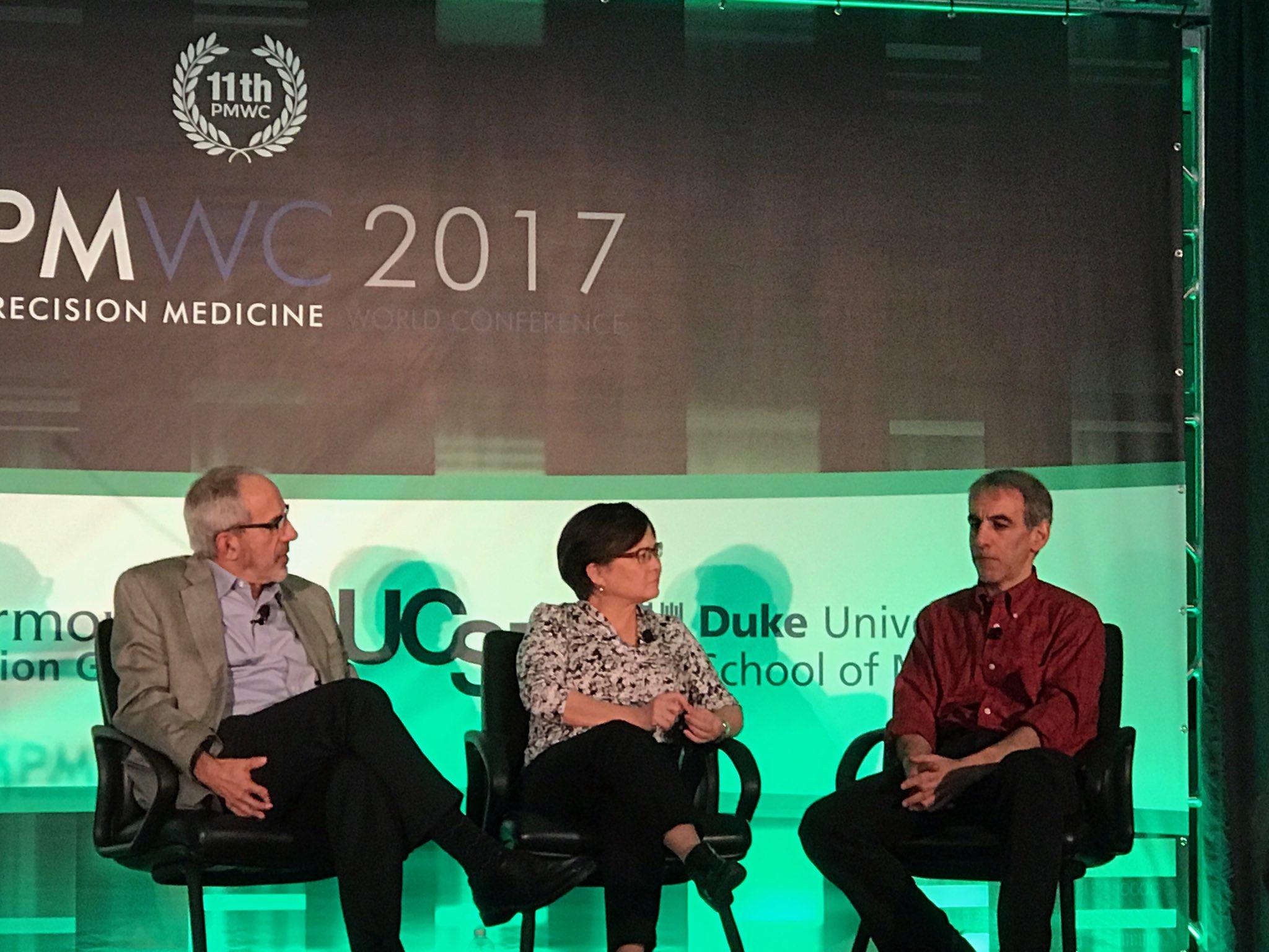 Greg Simon & David Glazer discuss #AllofUs and its role in democratizing #cancer #PMWC17 #PrecisionMedicine https://t.co/8IpLWIcFeX