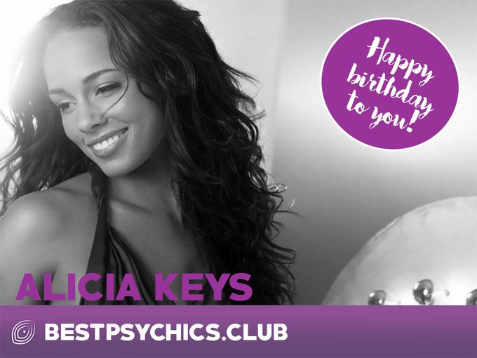 Happy birthday, Alicia Keys!