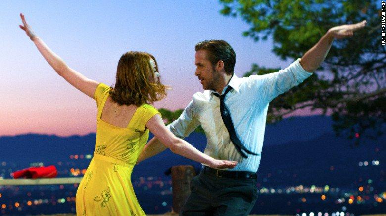 """""""La La Land"""" in lingua originale, film candidato a 14 premi Oscar"""