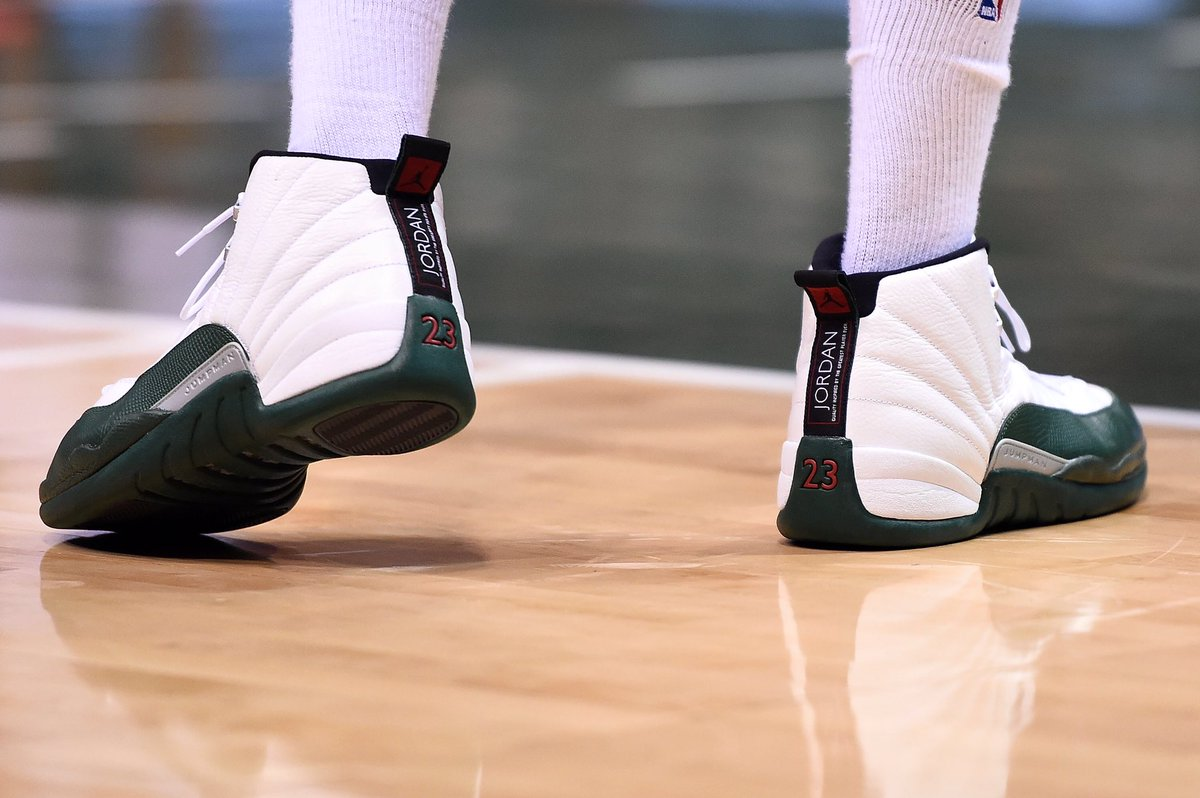 ce565220dfdcae Another look at the air jordan 12 pe worn by  jabariparker ...