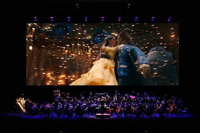 実写版『美女と野獣』全編をフルオーケストラの生演奏と共に限定上映  - 東京国際フォーラムで fas…