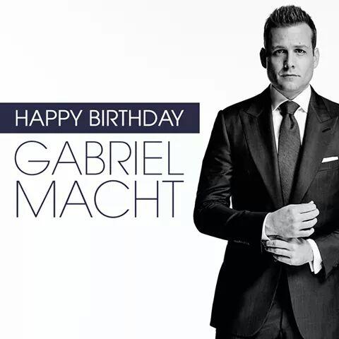 Happy birthday Gabriel Macht love you