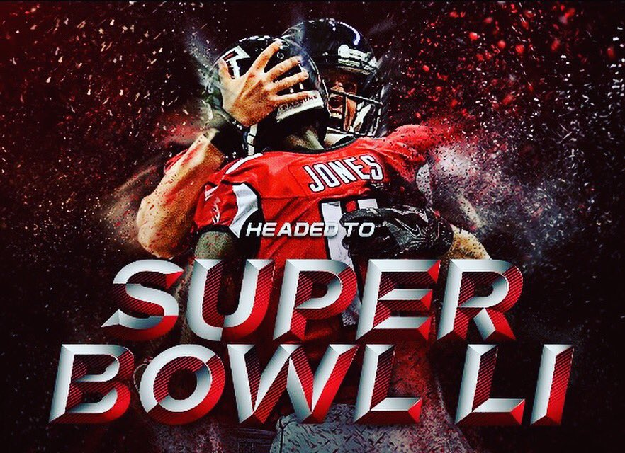 Congratulations to the #NFCChamps our @AtlantaFalcons! We're headed to the #SuperBowl! #RiseUp https://t.co/QqNDCMgKNi