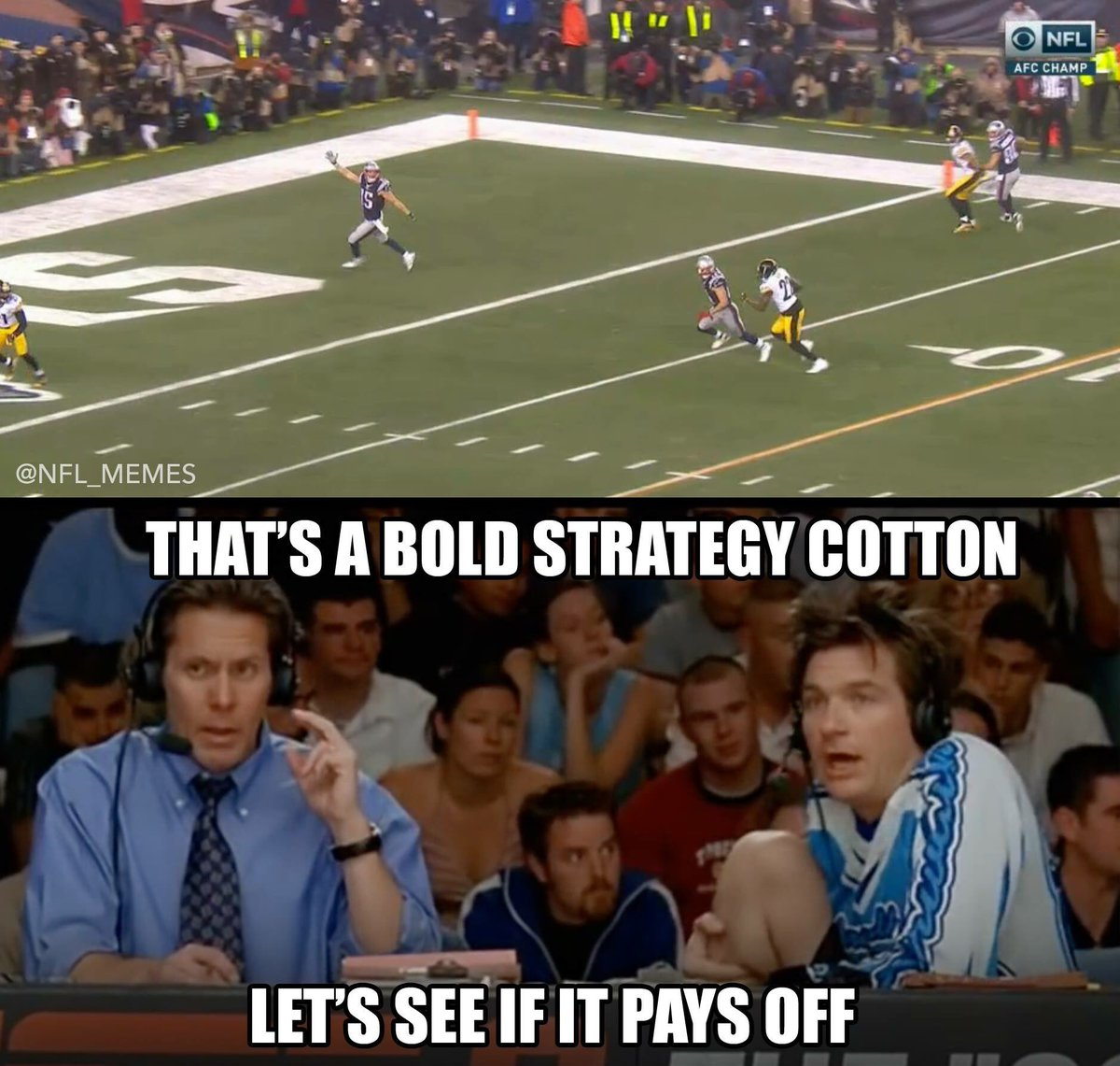 Nfl Memes On Twitter The Steelers Defense Doing Their Best