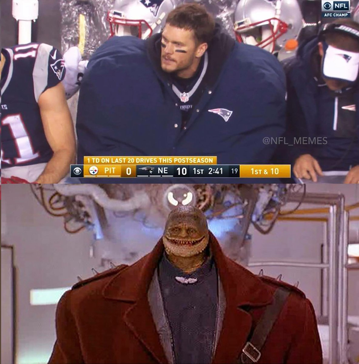 Nfl Memes On Twitter Tom Brady Out Here Looking Like Goomba From The Super Mario Bros Movie