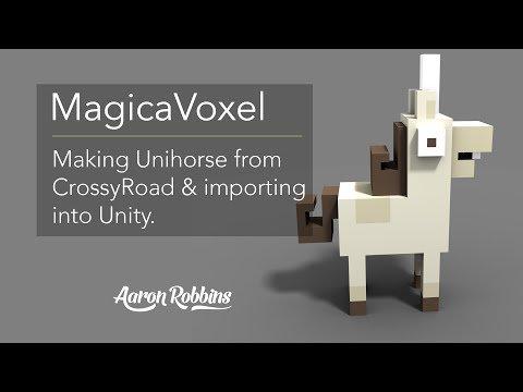MagicaVoxel & Unity