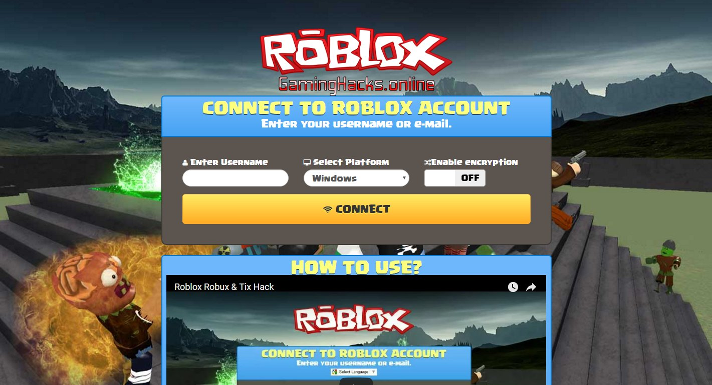 Gaminghacks Online On Twitter Roblox Free Robux How To Hack