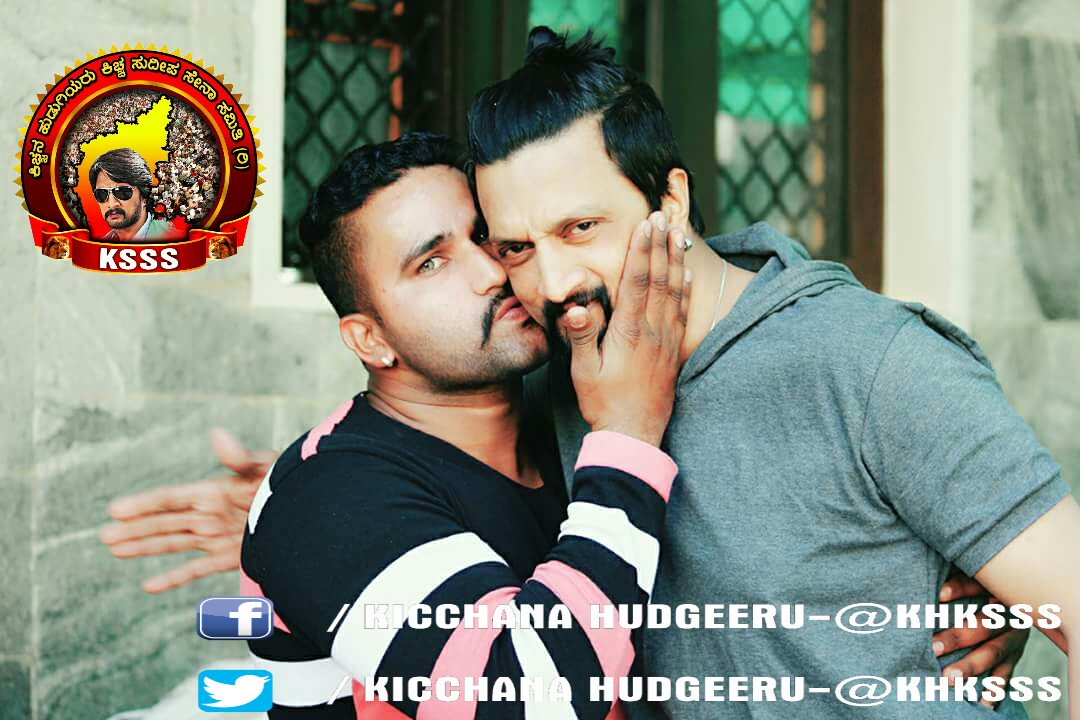 #Exclusive  pic  our boss @KicchaSudeep  &amp; his #luckyfan @KicchanaS   Gud noon #Kiccha fans   Fallow-@KHKSSS<br>http://pic.twitter.com/hdQIgRYX7y