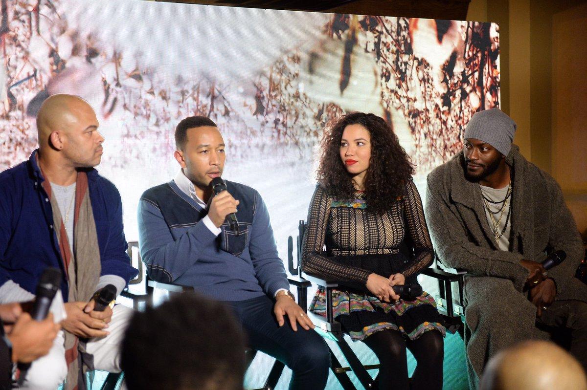 In the Sundance Undergound, with John Legend.  https://t.co/K9wVztfU1M...