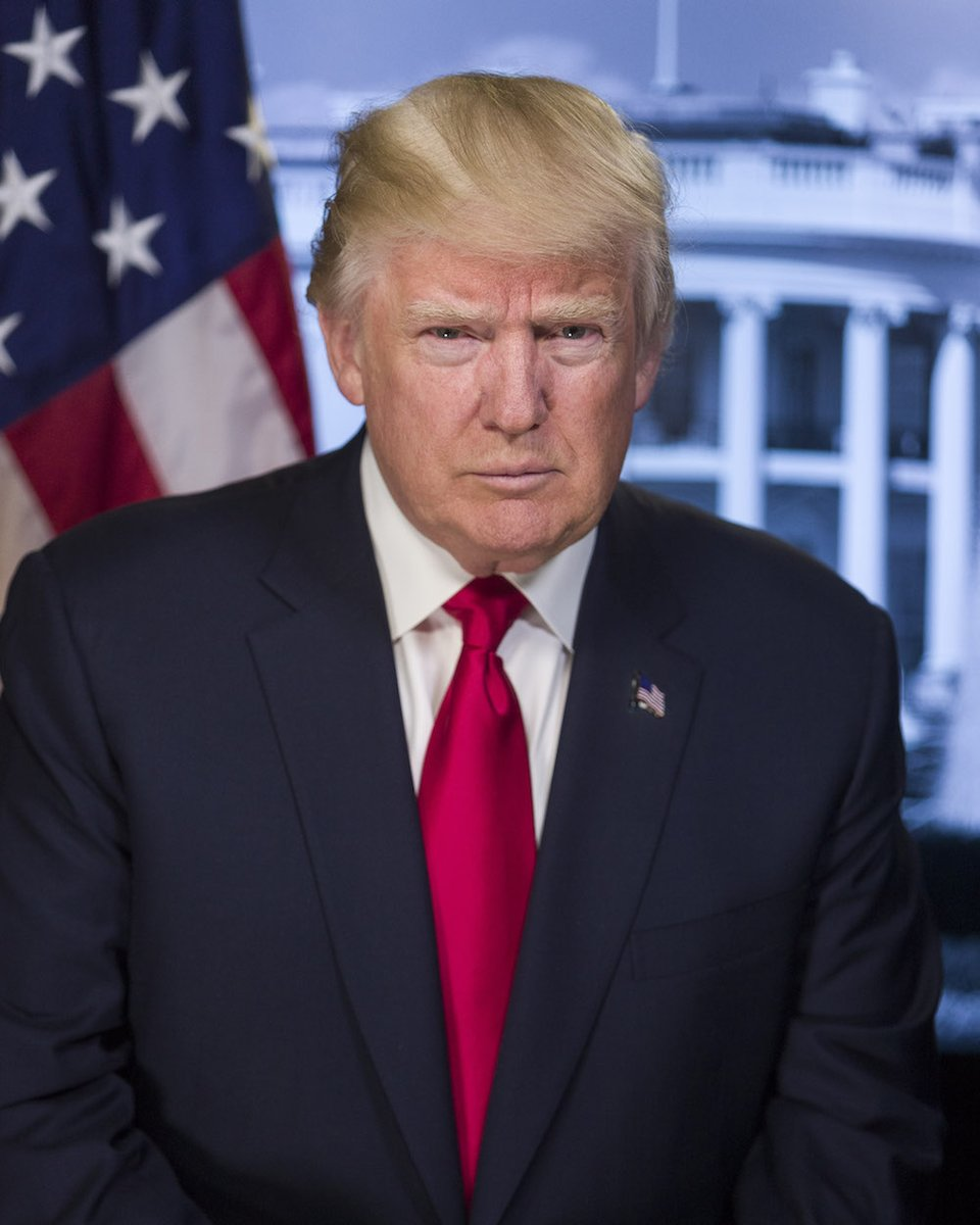 Fun fact: Every time you see Trump's official portrait now, you'll think about his low inauguration turnout. https://t.co/2fcj4ECLi2