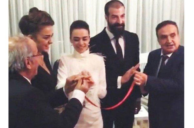 Evliliğe ilk adım (Hande Soral-İsmail Demirci) https://t.co/GI6cNkpMas https://t.co/AajZpNPrtO