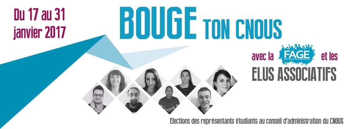 #BTC : Du 17 au 31 Janvier, pour l&#39;AGI et une linéarisation des bourses, si tu es élu(e) CROUS, vote BOUGE TON CNOUS ! @La_FAGE<br>http://pic.twitter.com/PwsiUH5wOq