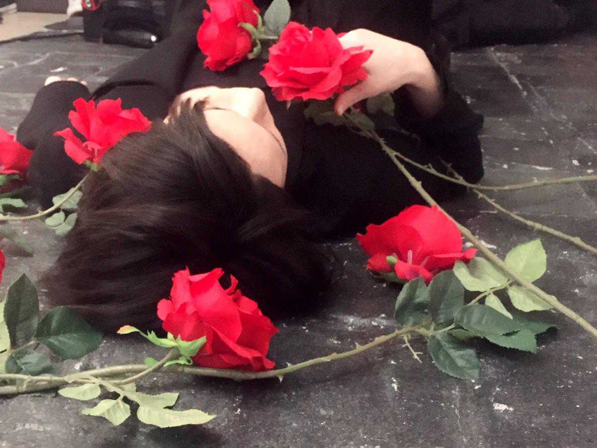 薔薇と北村諒。
